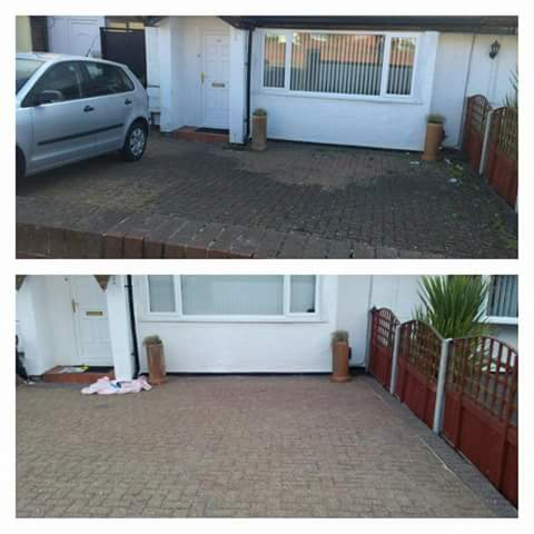 Driveway Cleaning, Prenton, Wirral