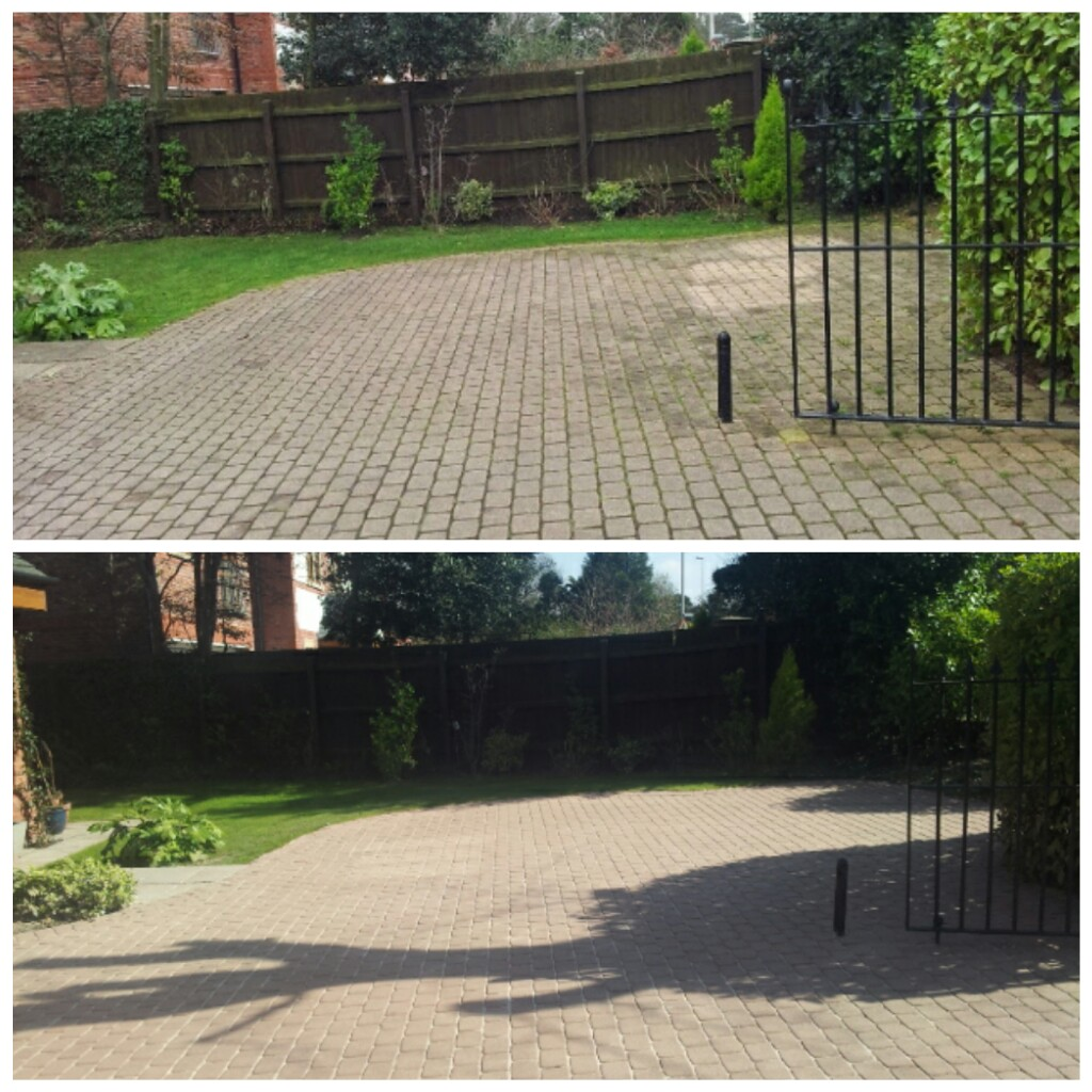 Driveway Cleaning, Caldy, Wirral