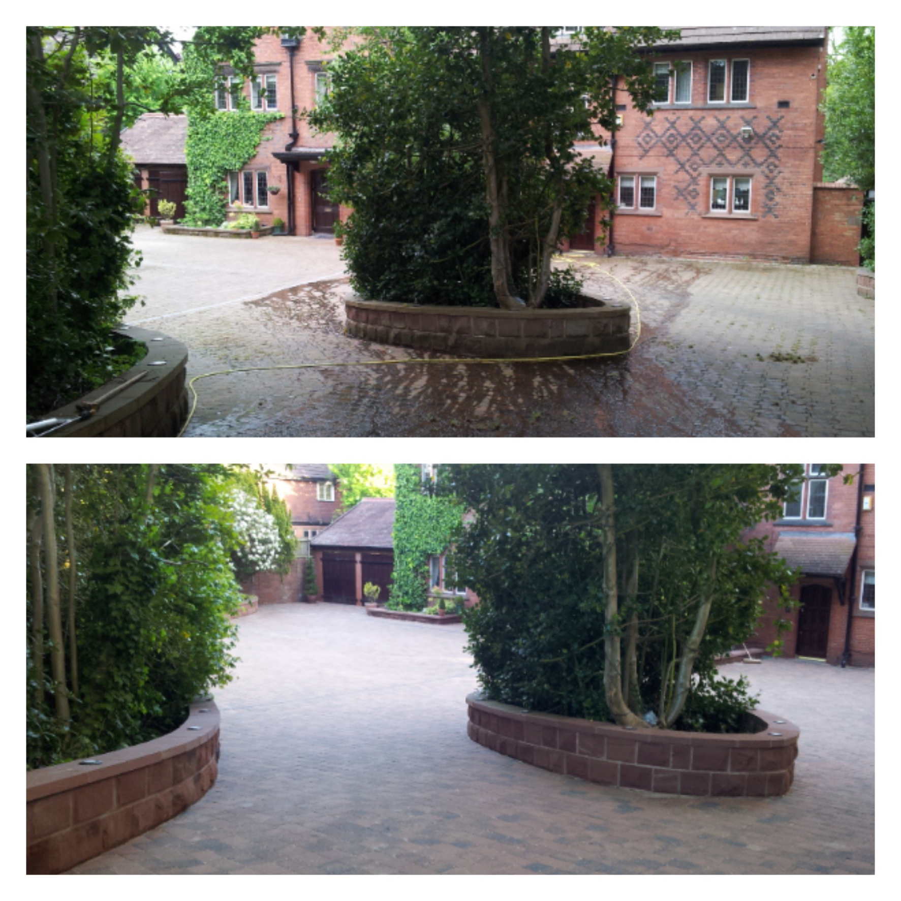 Driveway Cleaning, Oxton, Wirral