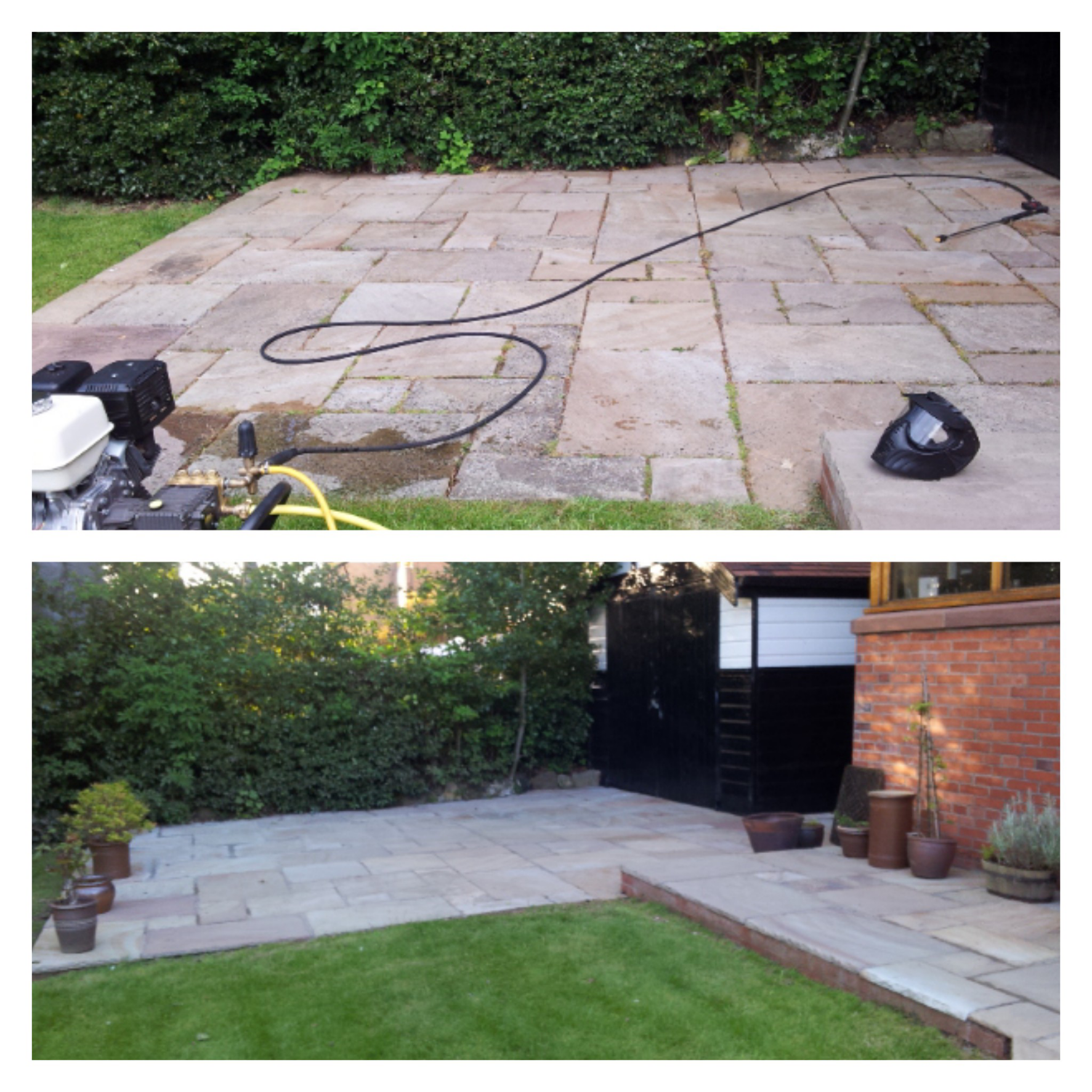 Patio Cleaning, Oxton, Wirral