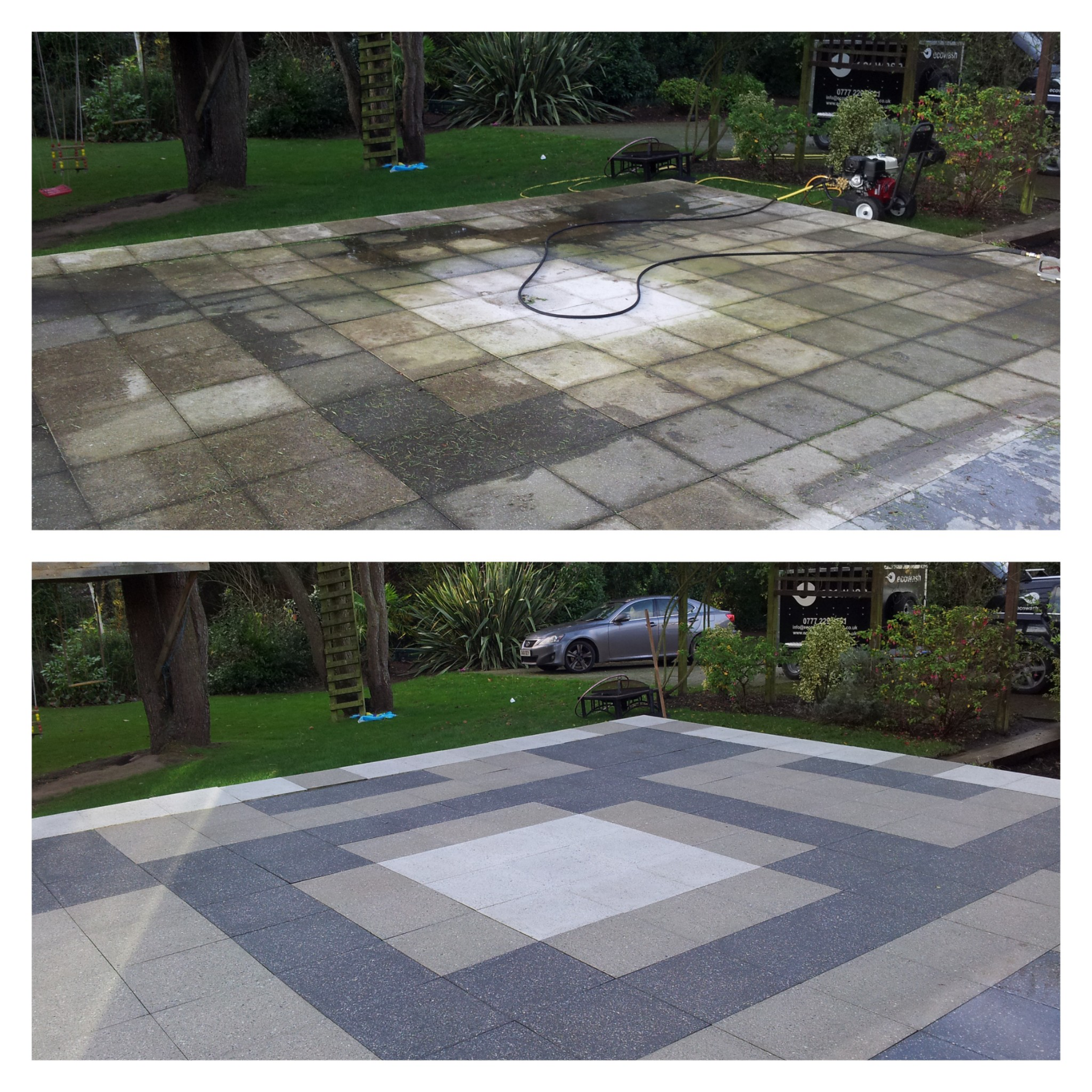 patio cleaning caldy wirral