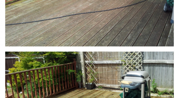 Decking Cleaning Wirral
