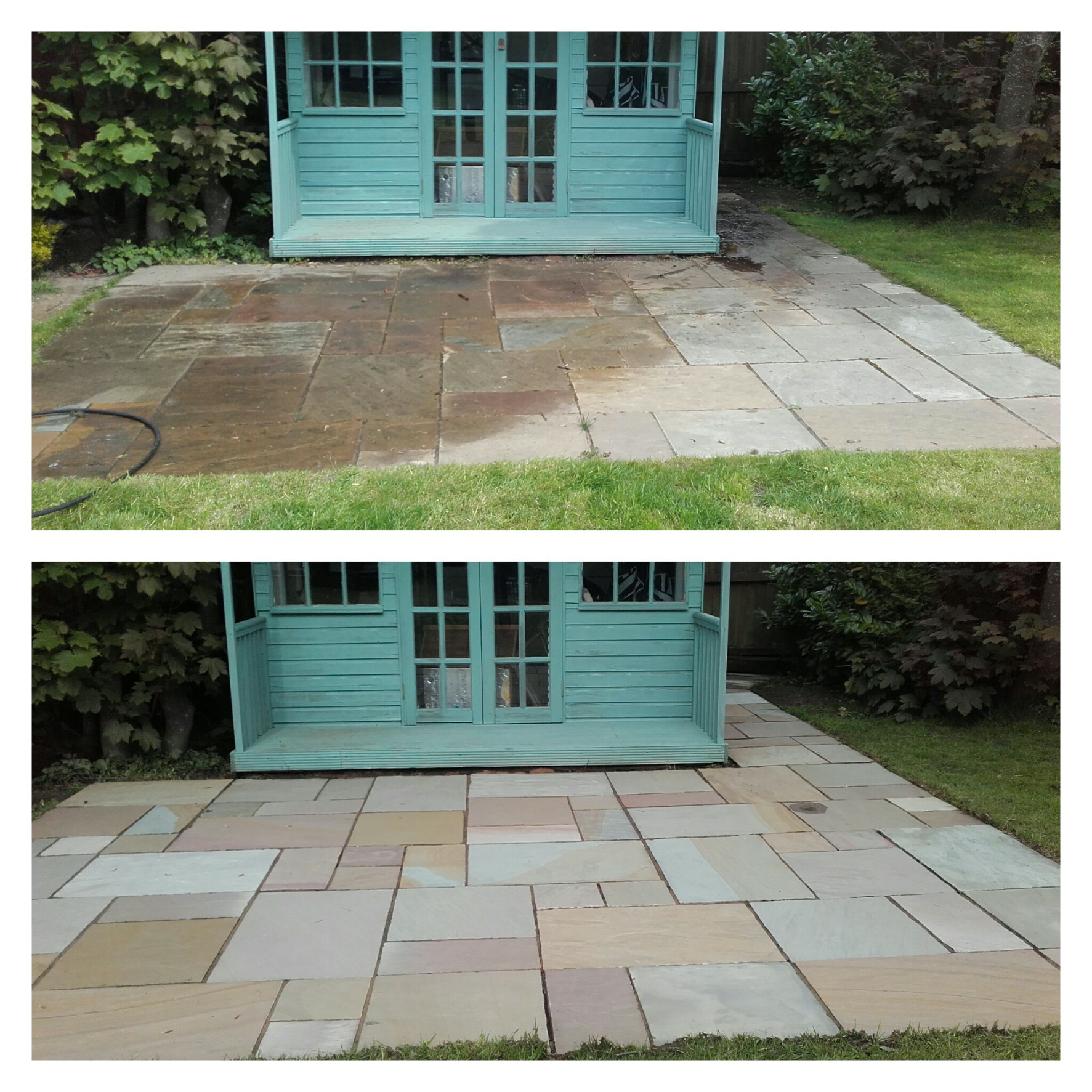 Indian-Sandstone-Patio-1- Indian Sandstone Patio Cleaning 1