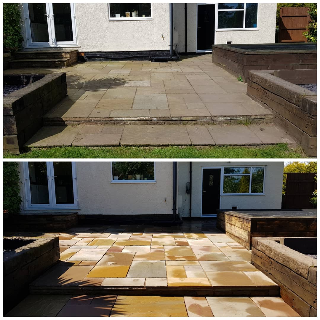 IMG_20180515_181229_039 Indian Sandstone Patio Cleaning - Westkirby, Wirral