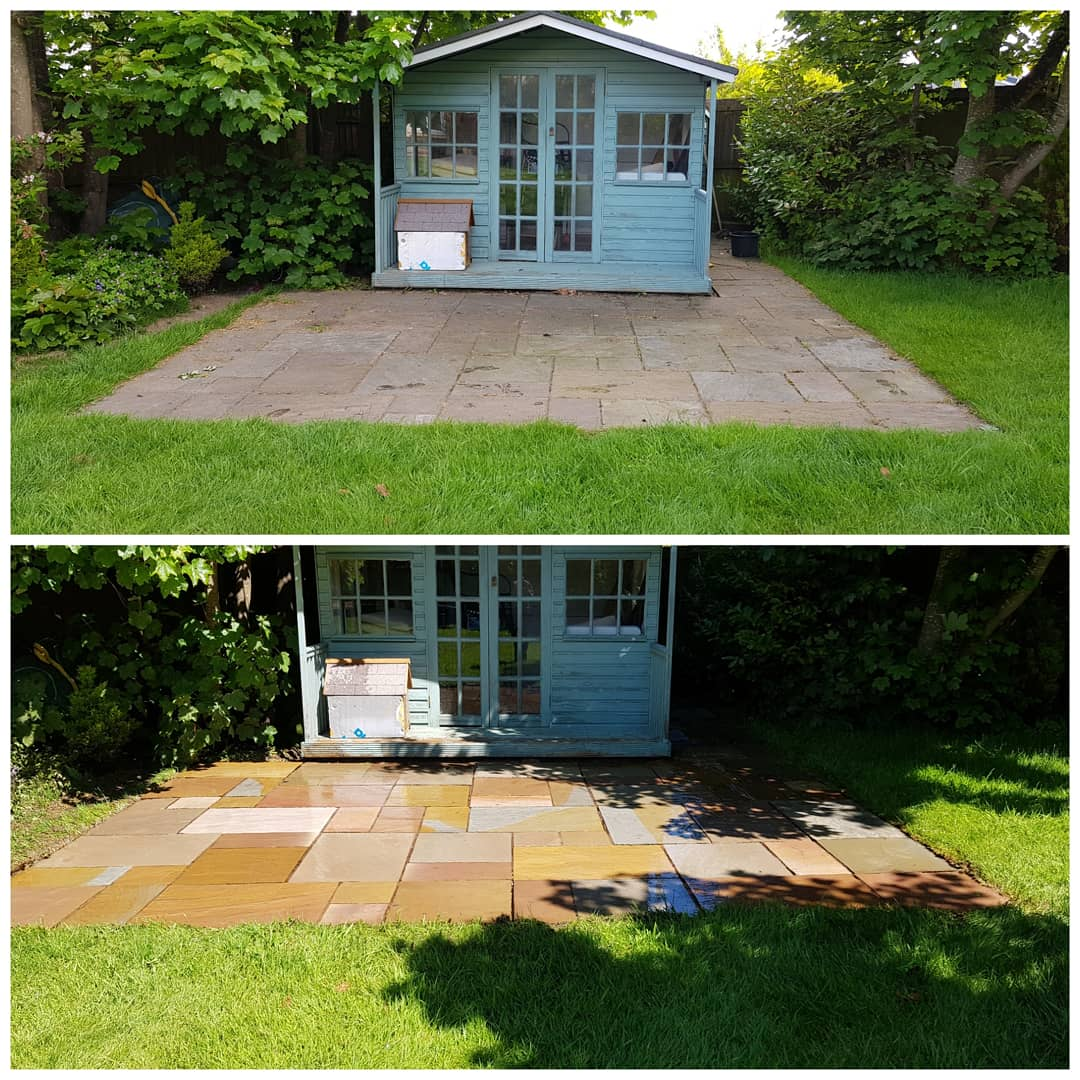 IMG_20180515_181229_045 Indian Sandstone Patio Cleaning - Westkirby, Wirral