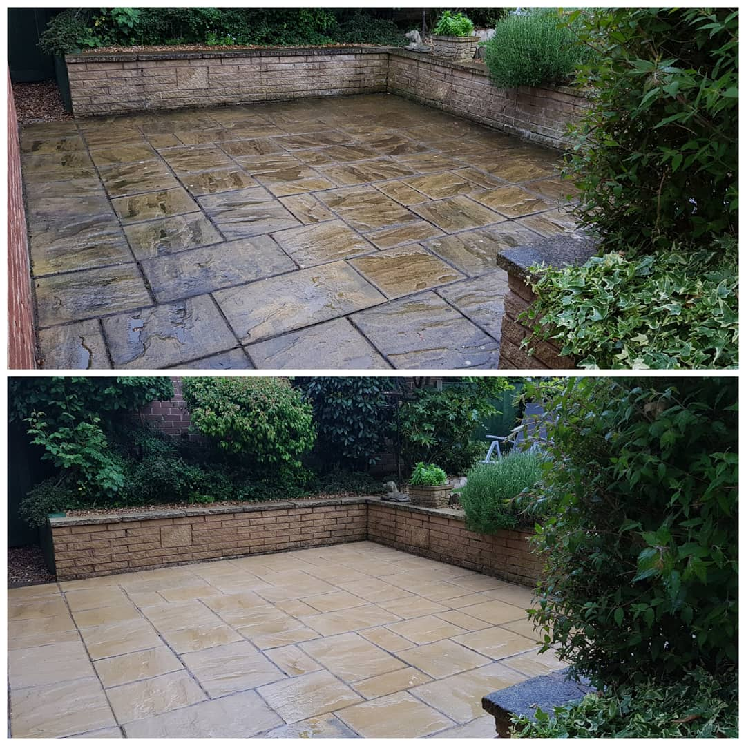 IMG_20180525_211834_776 Concrete Paving Patio & Path Cleaning - Westkirby, Wirral