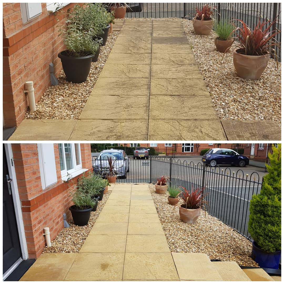 IMG_20180612_151628_152 Concrete Paving Path Cleaning - Bromborough, Wirral