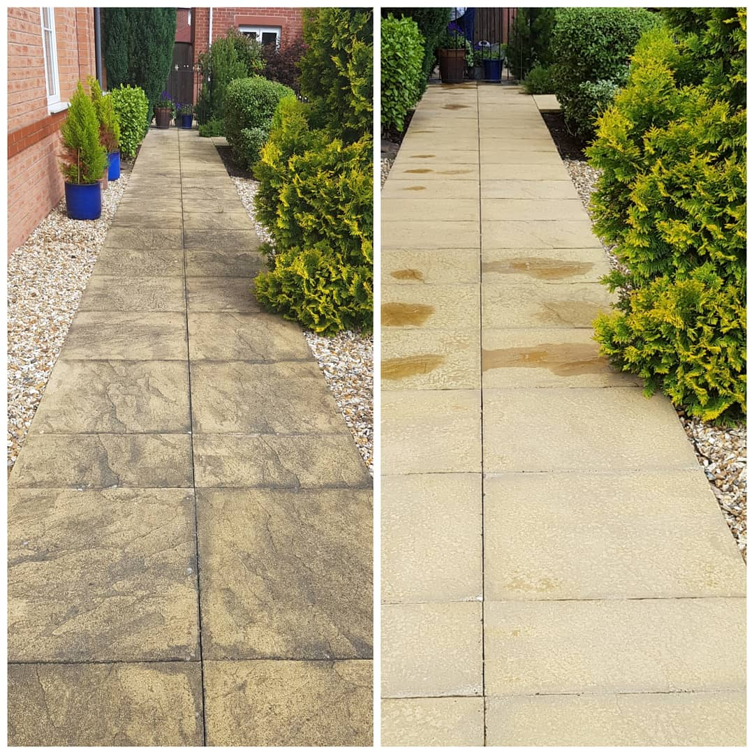 IMG_20180612_151628_153 Concrete Paving Path Cleaning - Bromborough, Wirral