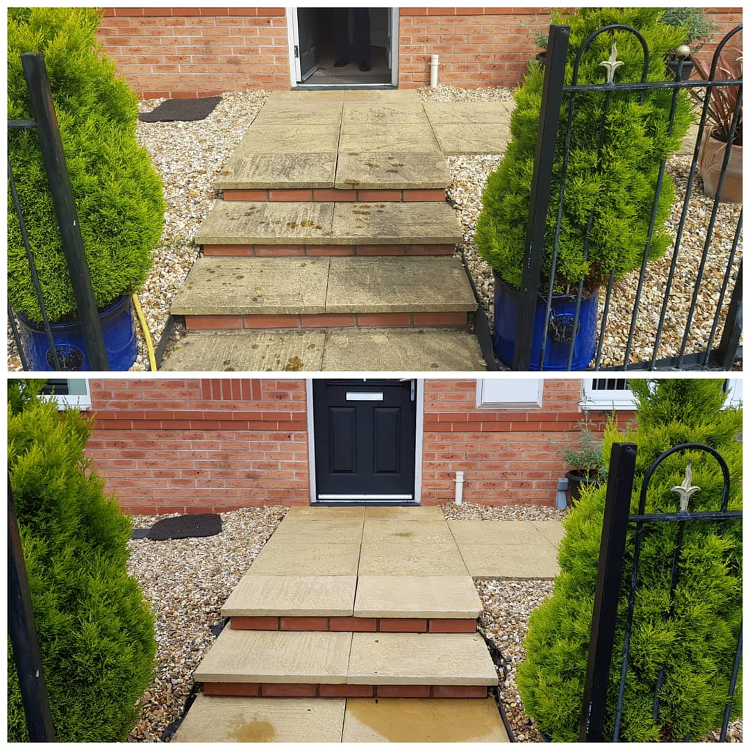 IMG_20180612_151628_154 Concrete Paving Path Cleaning - Bromborough, Wirral