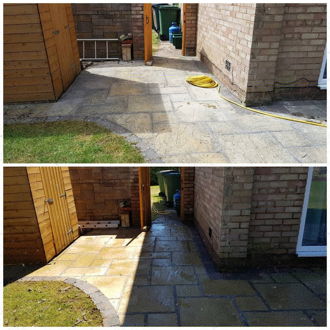 IMG_20180622_185827_955 Paving Patio Cleaning - Spital, Wirral