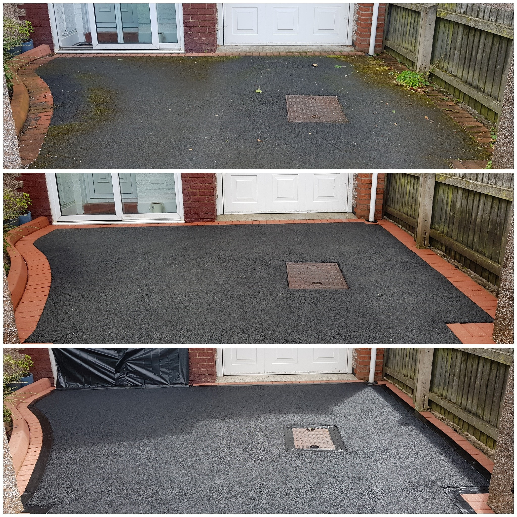 img_20180731_162347_5168015812535542415683 Oil Patch Removal, Tarmac Cleaning & Restoration, Resiblock Resimac - Meols, Wirral